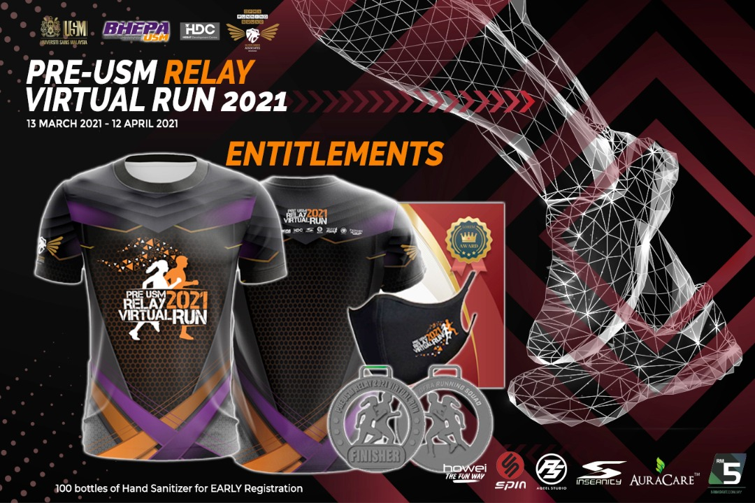 Pre-USM Relay Virtual Run